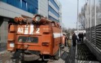 Спорткомплекс в Днепре пострадал от пожара