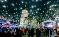 Новогодний декор Киева высмеяли в сети