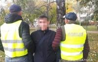 В Киеве задержали двух воров, рывшихся в салоне автомобиля