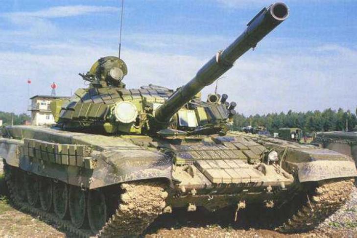 Порошенко презентовал новый украинский танк т-72а - видео