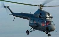 В Харьковской области на военном аэродроме упал вертолет