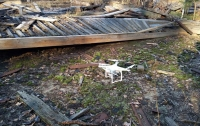 В арсенале Ични нашли неизвестный квадрокоптер