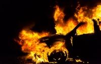 На Львовщине водитель сжег автомобиль, чтобы скрыть следы смертельного ДТП