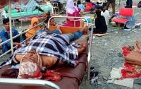 Число жертв землетрясения в Индонезии возросло до 1,2 тысячи человек