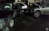 Масштабное ДТП в Мелитополе: трое раненых и пять разбитых авто