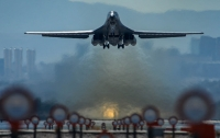Американский B-1B провел учения на южнокорейском полигоне недалеко от КНДР