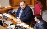 Стефанчук сел в кресло Разумкова