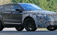 Папарацци засекли новый Land Rover на дороге