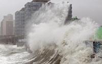 На Китай обрушился мощный тайфун