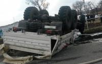 Не вся российская гуманитарка доберётся до террористов на Донбассе, благодаря ДТП
