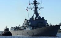 Американский эсминец вошел в Балтийское море