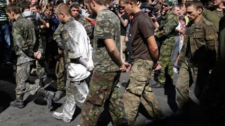 Боевики захватили в плен украинских военных