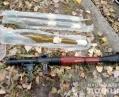 На Луганщине у прохожего в мешке нашли гранаты и гранатомет