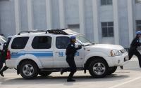 В Китае охранник угнал инкассаторский броневик