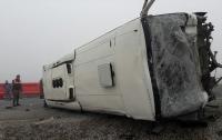 Автобус со школьниками попал в страшное ДТП в Азербайджане
