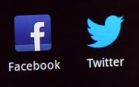 Twitter и Facebook заблокировали сотни страниц