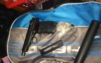 У киевлянина в квартире нашли оружие и боеприпасы
