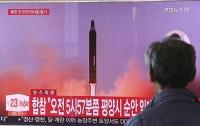 Появилось видео запуска баллистической ракеты КНДР
