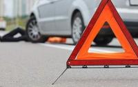 ДТП В Харькове: водитель на скорости снес девушку на переходе (видео)