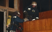 Масштабный пожар в Киеве: горела больница