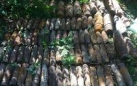 В Киеве нашли более ста артиллерийских снарядов времен Второй мировой
