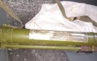 Водитель такси нашел в машине забытый пассажиром гранатомет