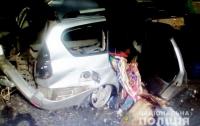В Полтавской области столкнулись грузовик и легковушка: два человека погибли