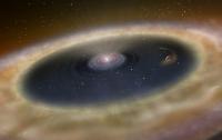Ученые нашли огромную планету-подростка (ФОТО)