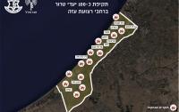 Израиль нанес удары по 100 целям в секторе Газа