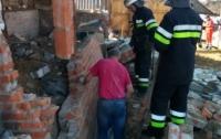Обвал дома на Харьковщине: есть погибшие