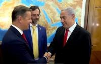 Вы не создаете историю, Вы и есть история, - народный депутат встретился с премьером Израиля (видео)