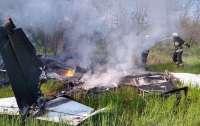 В Днепропетровской области разбился самолет, есть погибшие