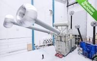 В Китае начались испытания самого мощного сверхвысоковольтного трансформатора (ВИДЕО)