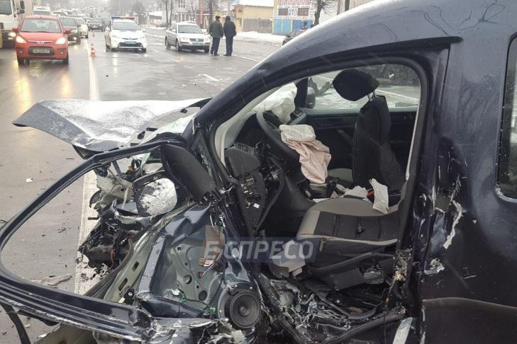 Правоохранители поведали обстоятельства ДТП напроспекте Лобановского, вкотором умер полицейский