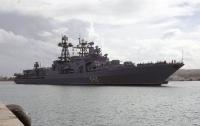 Во Владивостоке горел противолодочный корабль российского флота