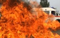 Пожар на трассе в Ровенской области: столкнулись три машины, погибли люди