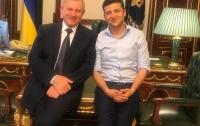 Зеленский встретился с главой НБУ