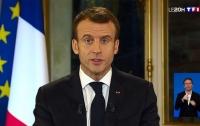 Макрон попал в число самых непопулярных президентов Франции