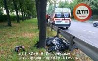 В Киеве произошла жуткая мото-авария, погибло двое людей