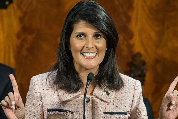 Хейли заявила, что иранский режим взят на карандаш