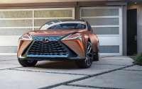 Lexus отложит выход большого кроссовера LF на два года