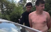 В Киеве нетрезвый мужчина набросился на полицейского