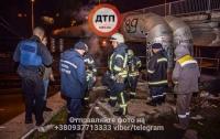 На киевской теплотрассе произошло возгорание