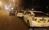 Патрульные попали в ДТП во время выполнения служебного задания (фото)