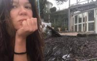 Молния попала в дом певицы Русланы