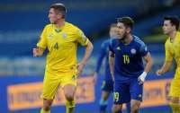 Футбольная сборная Украины не сумела обыграть Казахстан в отборе на ЧМ-2022