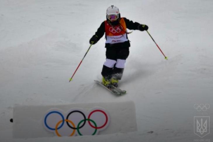 Олимпиада-2018: украинка Татьяна Петрова стартовала вдисциплине могул