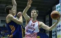 Сборная Украины на Евробаскете сыграет с Хорватией