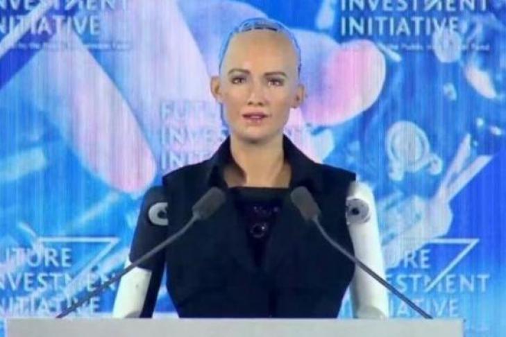 ВСаудовской Аравии появился 1-ый  вмире робот сгражданством