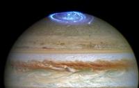 На Юпитере замечено самое сильное полярное сияние